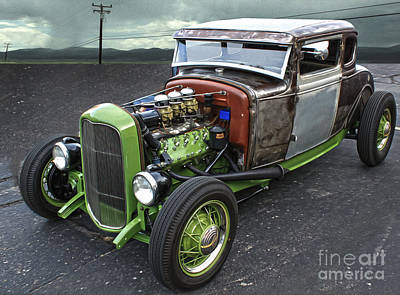 Photograph - Hot Rod - 04 by Gregory Dyer