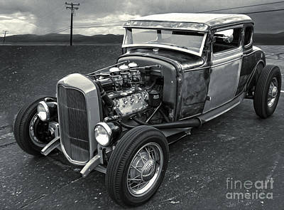 Photograph - Hot Rod - 05 by Gregory Dyer