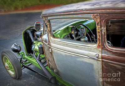 Photograph - Hot Rod - 06 by Gregory Dyer