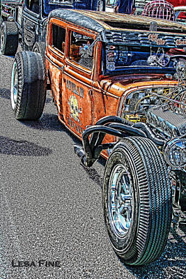 Cruiser Photograph - Hot Rod Art by Lesa Fine