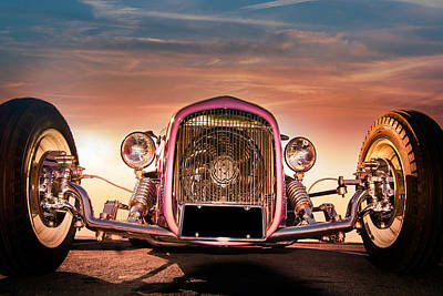 Photograph - Hot Rod Color by Mickey Clausen