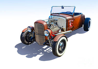 Photograph - Hot Rod Convertible by Anthony Sell