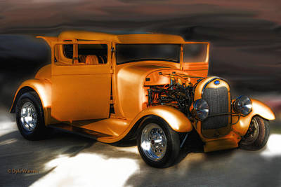 Photograph - Hot Rod by Dyle   Warren