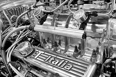 Photograph - Hot Rod Engine by Trever Miller