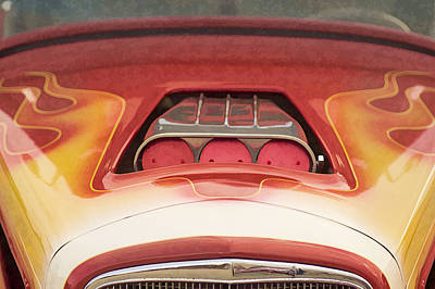 Photograph - Hot Rod Flames by Wayne Meyer