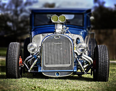 Photograph - Hot Rod Ford by Andy Crawford