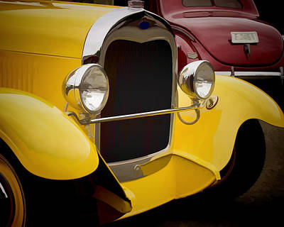 Photograph - Hot Rod Fords by Ron Roberts