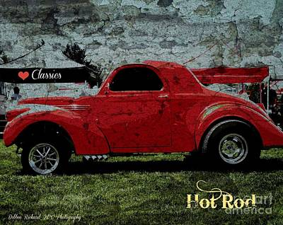 Photograph - Hot Rod Graffiti Series by Bobbee Rickard
