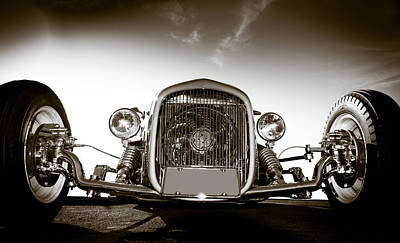 Photograph - Hot Rod by Mickey Clausen