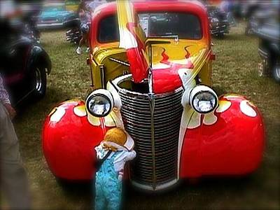 Photograph - Hot Rod Pickup Truck by Amazing Photographs AKA Christian Wilson