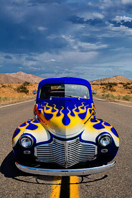 Photograph - Hot Rod To Hell by Peter Tellone