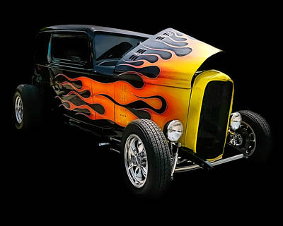 Art Print featuring the photograph Hot Rod by Victor Montgomery