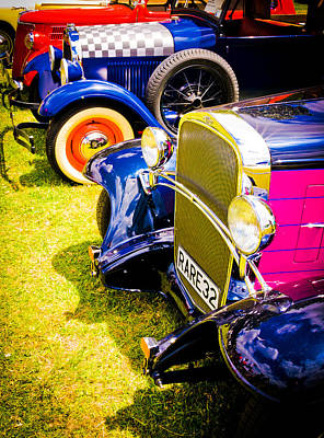 Hot Pink Custom Photograph - Hot Rods by Phil 'motography' Clark