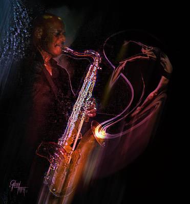 Hot Sax Art Print