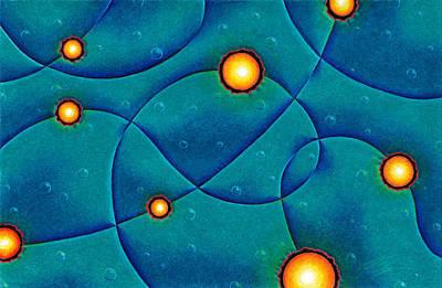 Cosmos Painting - Hot Spots by Joe Burgess