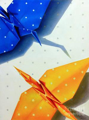 Drawing - Hot Spots by Ranjini Venkatachari