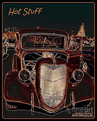 Photograph - Hot Stuff Pick Up by Bobbee Rickard