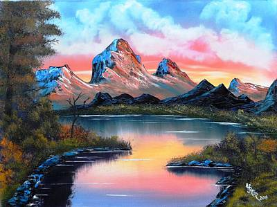 Hot Summer Mountain Grandeur Original