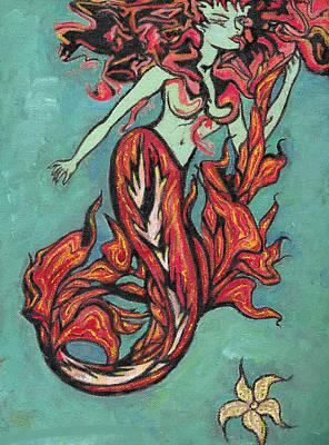 Hot Tuna Print by Tiffany Selig