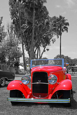 Art Print featuring the photograph Hot V8 by Shoal Hollingsworth