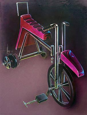 Hot Wheels Art Print by Jack Adams