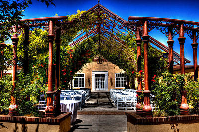 Photograph - Hotel Albuquerque Wedding Pavilion by David Patterson