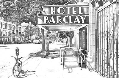 Photograph - Hotel Barclay by Joe  Burns