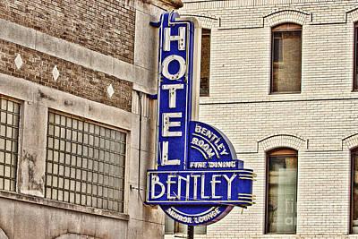 Upscale Photograph - Hotel Bentley by Scott Pellegrin