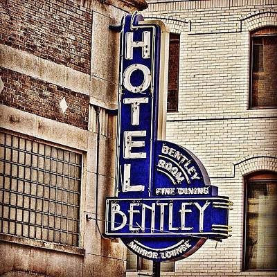 Downtown Photograph - Hotel Bently by Scott Pellegrin