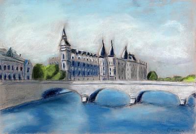 Pastel - Hotel De Ville Paris by Carmela Cattuti
