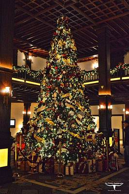California Photograph - Hotel Del At Christmas 4 by Tommy Anderson