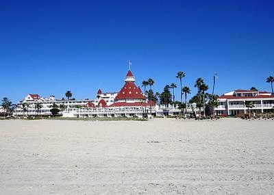 Photograph - Hotel Del Coronado by Nina Donner