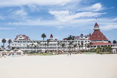 Hotel Del Coronado Print by Ralf Kaiser