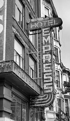 Photograph - Hotel Empress by Douglas Pike