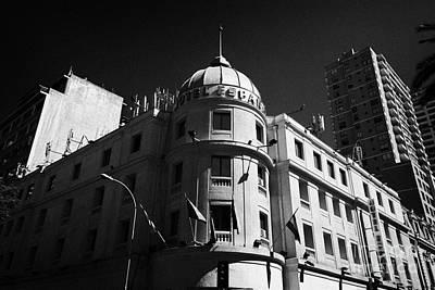 hotel espana Santiago Chile Art Print by Joe Fox