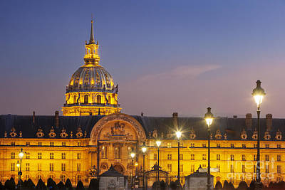 Invalides Photograph - Hotel Les Invalides by Brian Jannsen