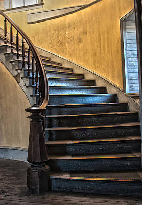 Photograph - Hotel Meade Grand Stairs by Sonya Lang