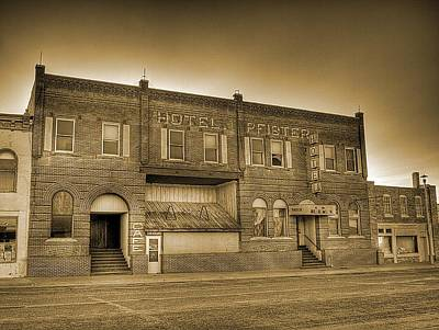 Photograph - Hotel Pfister by HW Kateley