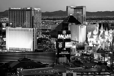 Tropicana Las Vegas Photograph - Hotel Room Heaven Bw by James Marvin Phelps
