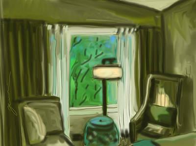 Painting - Hotel Room by Jean Pacheco Ravinski
