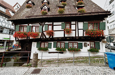 Photograph - Hotel Schiefes Haus by Patrick Boening