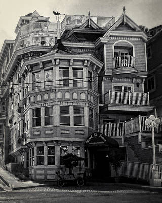 Photograph - Hotel St. Lauren by Timothy Bulone