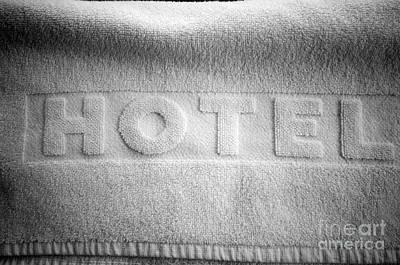 Comfort Photograph - Hotel Towel by Michal Bednarek