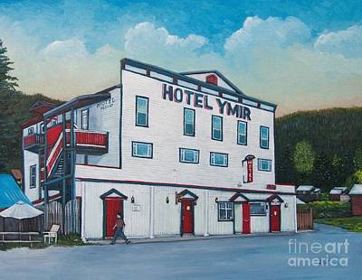 Painting - Hotel Ymir by Reb Frost