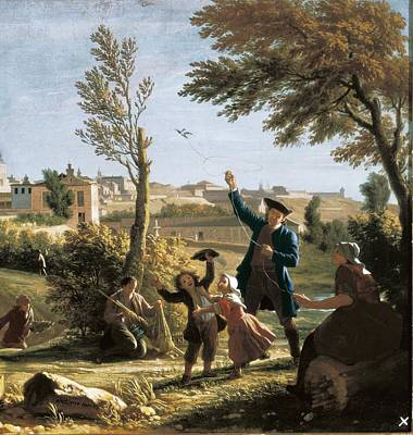 Houasse, Michel-ange 1680-1730 Art Print