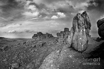 Photograph - Hound Tor Dartmoor by Colin Munro