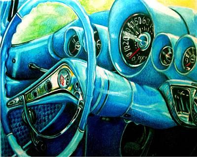 Houndstooth Art Print by Kathleen Bischoff