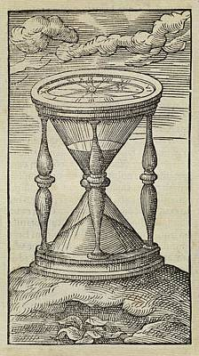 Hourglass Art Print by Middle Temple Library