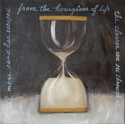 Painting - Hourglass Of Life by Irene Corey