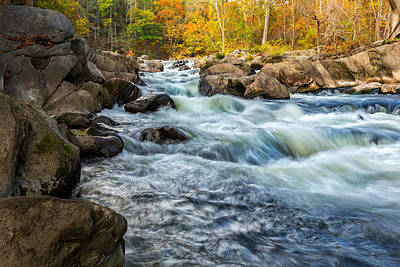 Litchfield County Photograph - Housatonic River Autumn by Bill Wakeley
